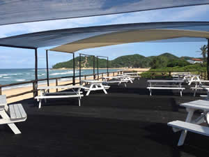 Paraiso do Ouro Resort in Ponta do Ouro has magnificent sea views.