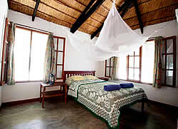 he Rio Savane Lodge offers four options for accommodation: chalets, huts and camping.