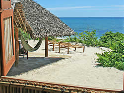 Guludo Beach Lodge accommodation in Querinba