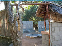 Nhanombe Lodge campsites in Mozambique